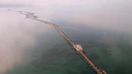 На опорах Крымского моста не была обеспечена нормативная толщина защитного слоя бетона, узнали журналисты