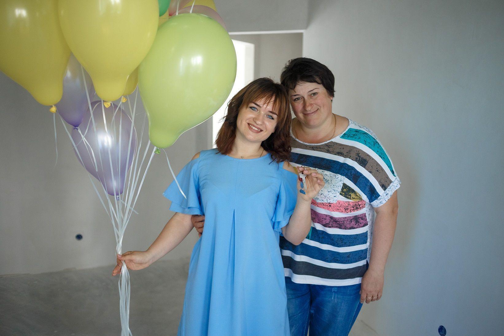 Елена Луценко с мамой