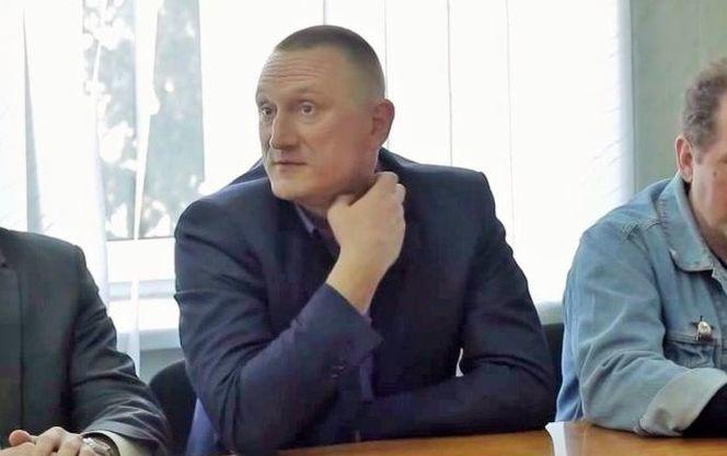 Андрей Аксенов,мэр Доброполья