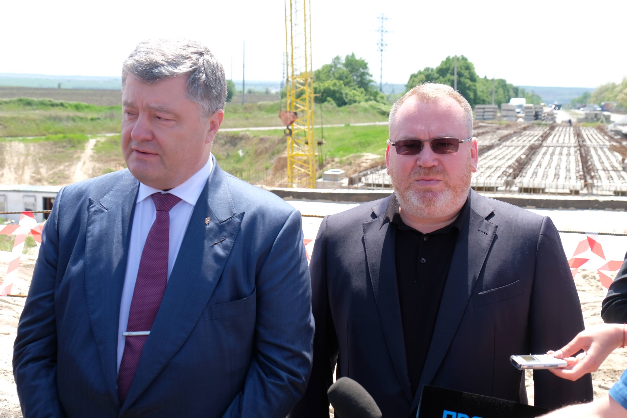Петр Порошенко и Валентин Резниченко