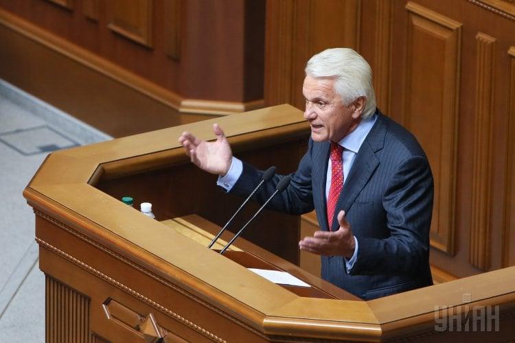 Владимир Литвин в Раде попал в курьезную ситуацию