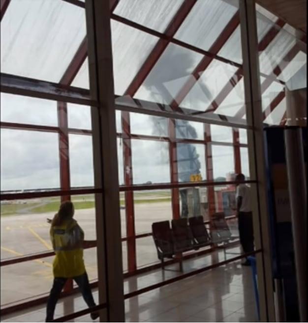 С места катастрофы Boeing 737 на Кубе