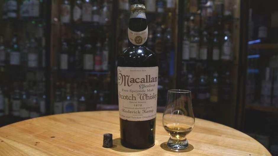 Бутылку виски продали за рекордные 1,1 млн долларов
