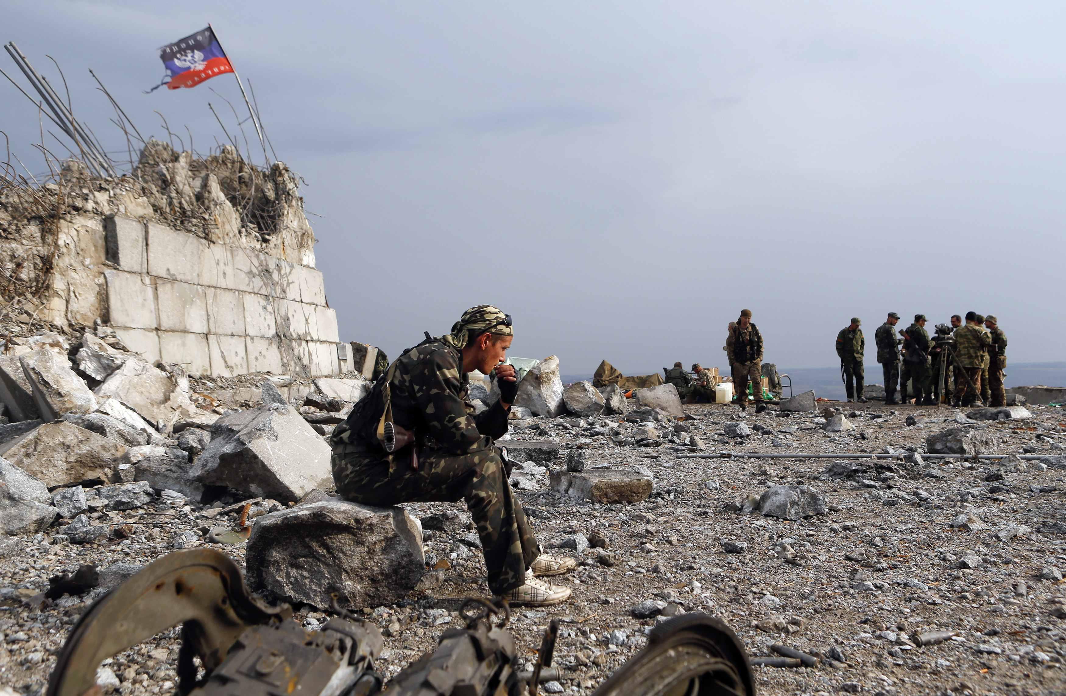 Панорама боевики ДНР