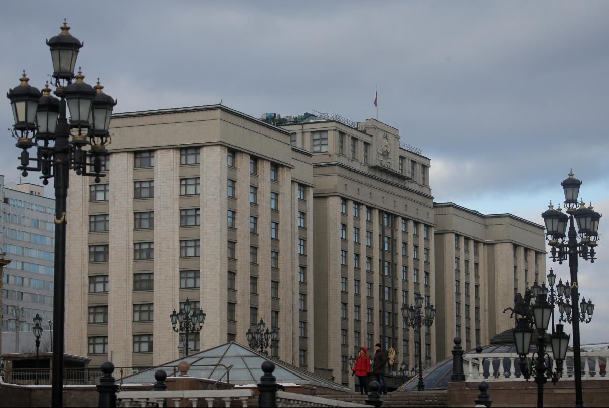 Госдума приняла закон о контрсанкциях
