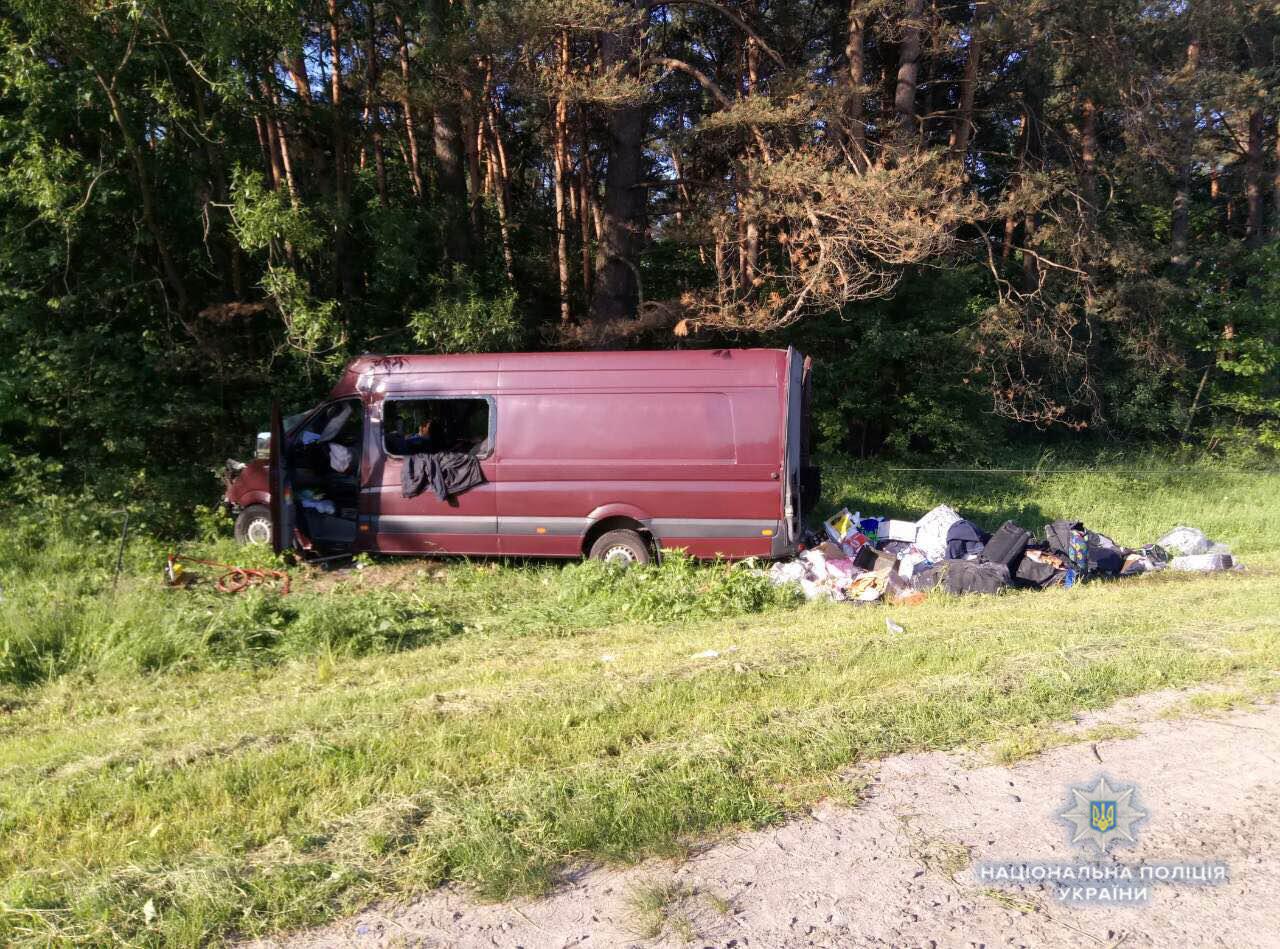 В результате кровавой аварии на Львовщине три человека попали в больницу