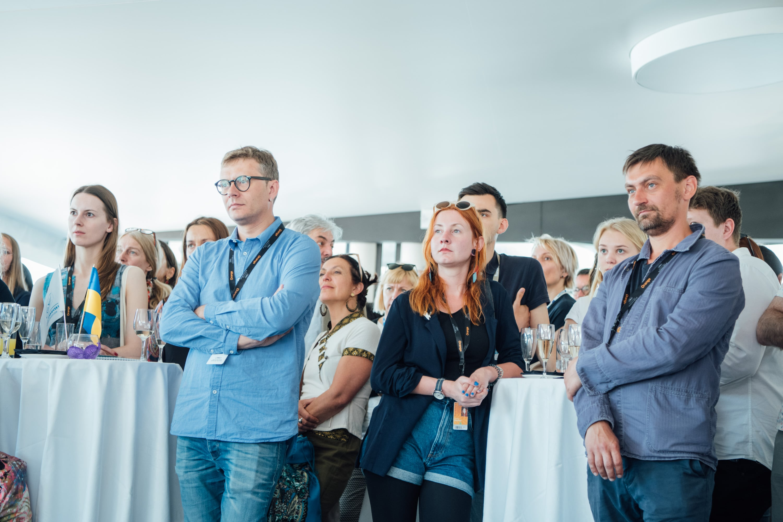 Гости на презентации украинских проектов фильмов