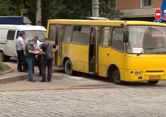 В Донецке в маршрутке во время движения произошел взрыв