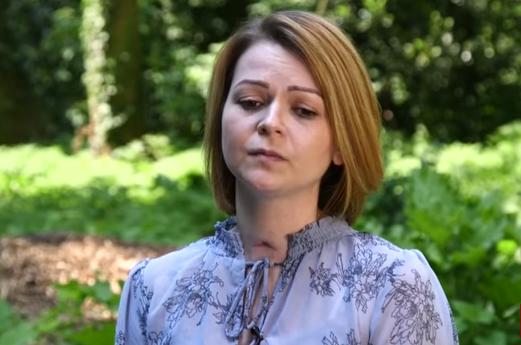Юлия Скрипаль впервые публично выступила после комы