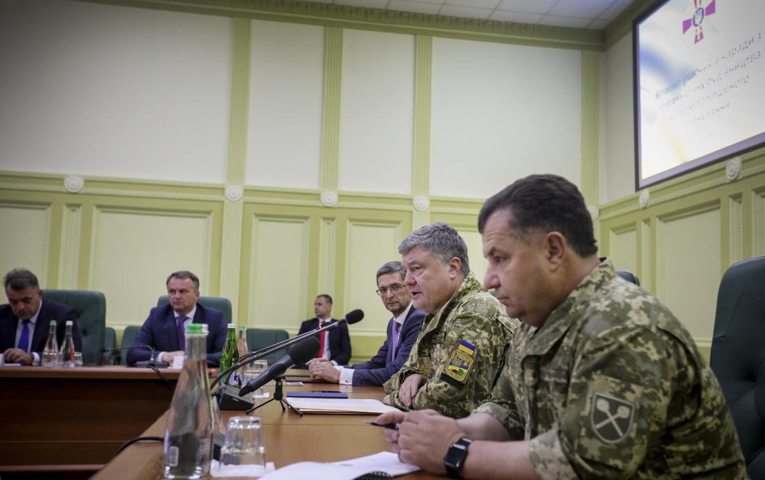 Президент заявил, что нужно резко увеличить количество ракетных комплексов на Донбассе