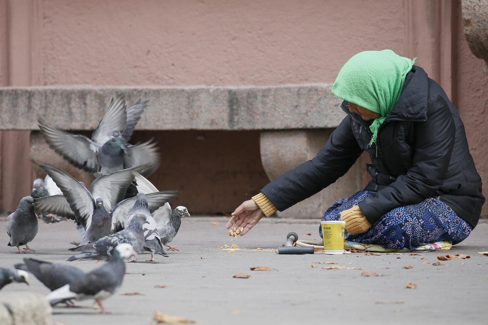 бедность, украина