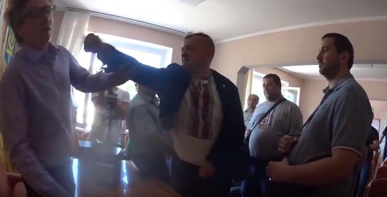 На Киевщине избили главу сельсовета