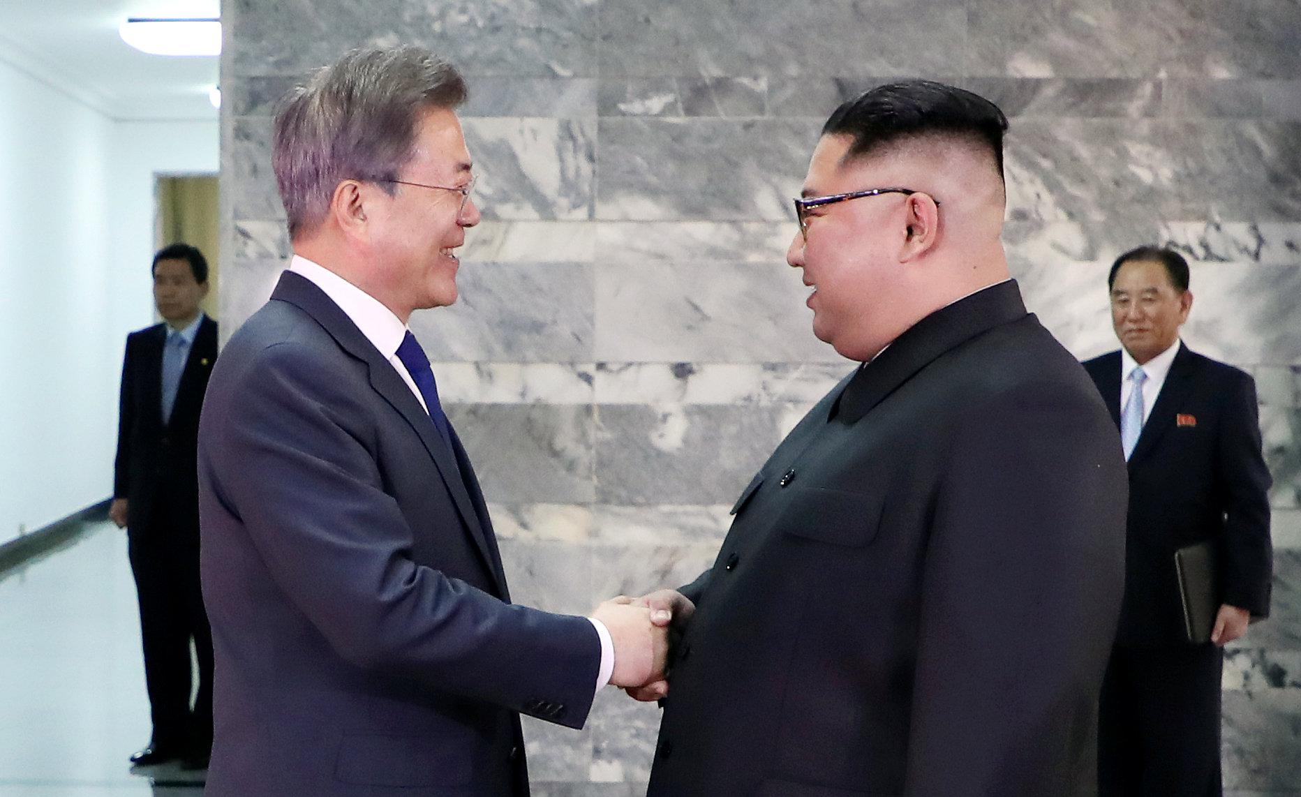 Ким Чен Ын и Мун Чже Ин провели новую встречу