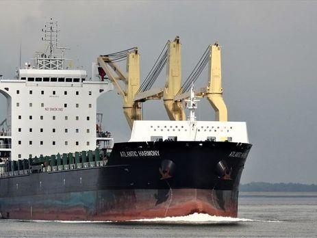 Тела моряков Atlantic Harmony доставлены в Украину