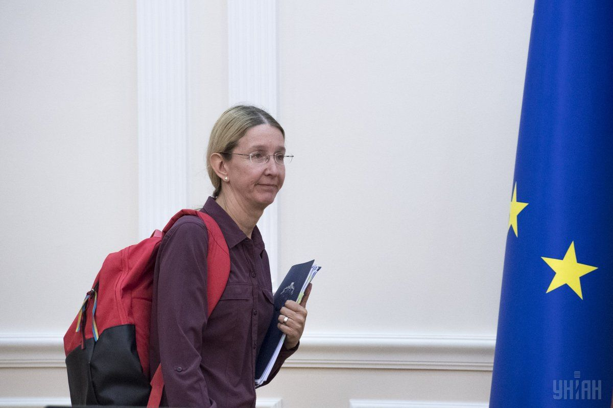 Ульяна Супрун беспокоится об осанке украинцев Фото: УНИАН