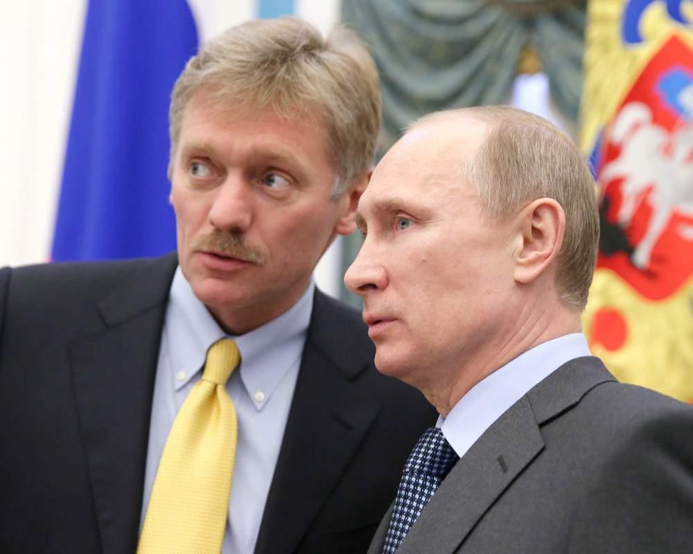 Путин снится Пескову в страшных снах
