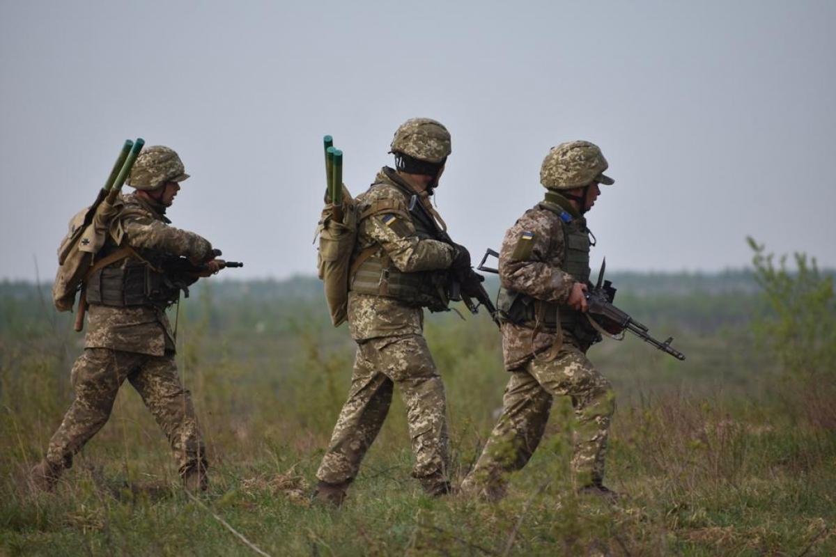 Бойцы ВСУ самовольно решили перейти серую зону