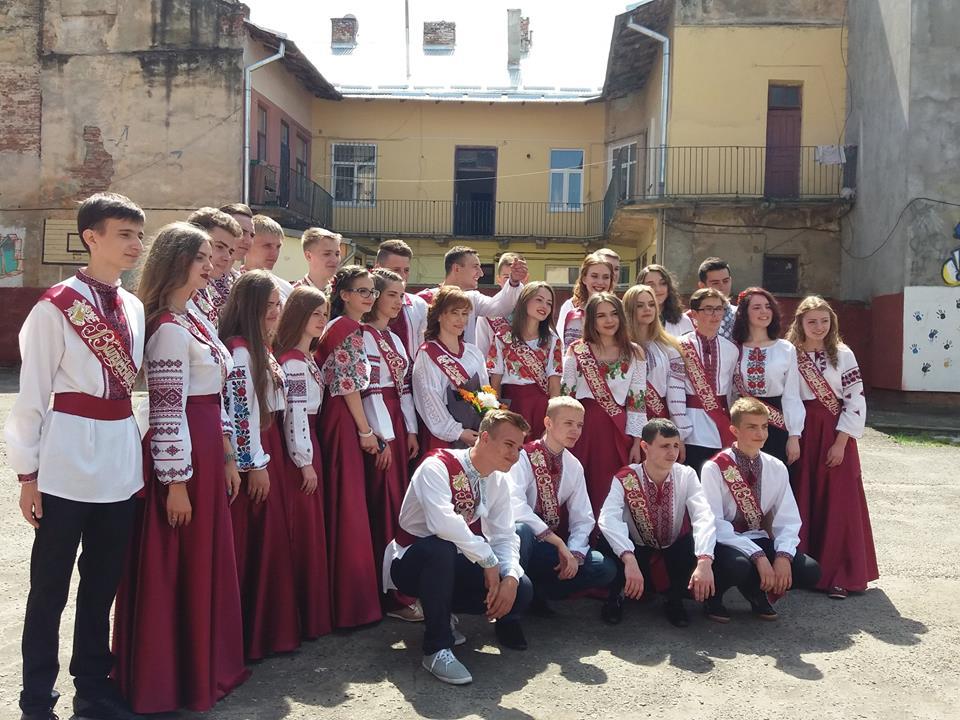 Выпускники школы№55 Львова