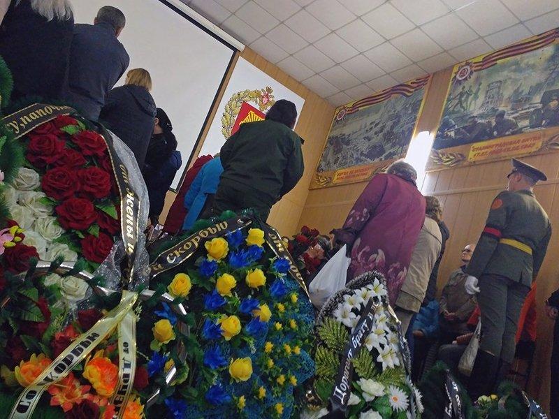 Похороны погибших в Сирии россиян Фото: Чита.ру