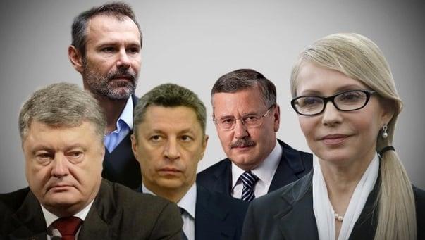 Борьба кандидатов за кресло президента и место в парламенте обойдется Украине в миллиарды гривень