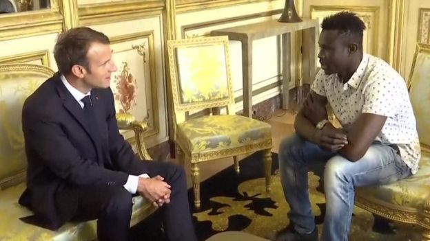 Мамуд Гассама стал настоящим героем во Франции