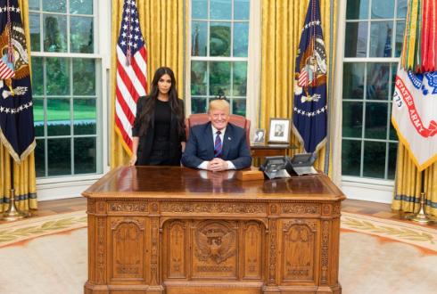 Трамп,Ким Кардашьян-Уэст