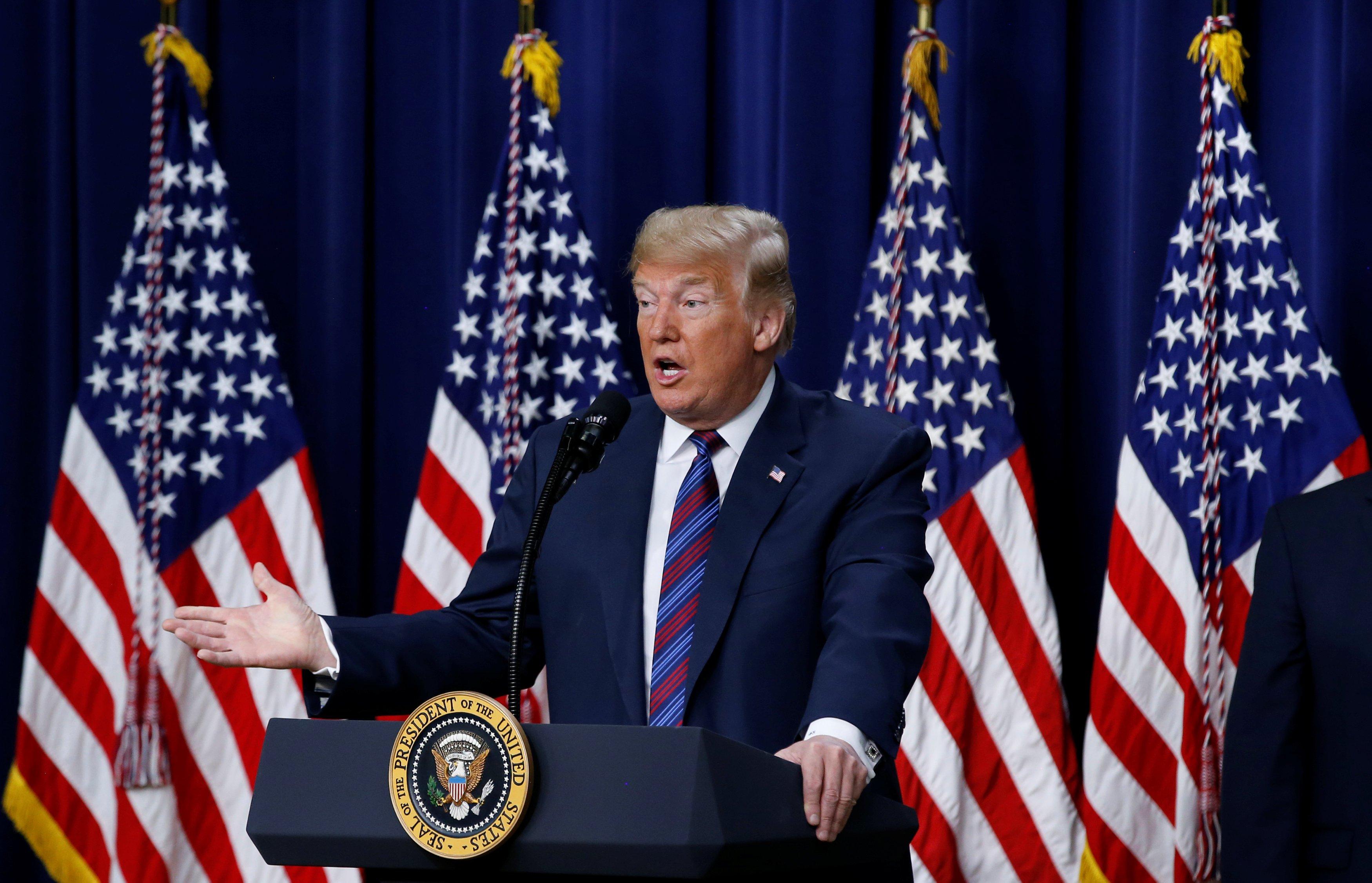 Дональд Трамп в Белом доме встретился с Ким Кардашьян-Уэст