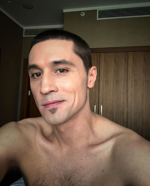 Дима Билан избавился от бороды