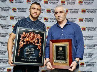 Василий Ломаченко получил награду в США