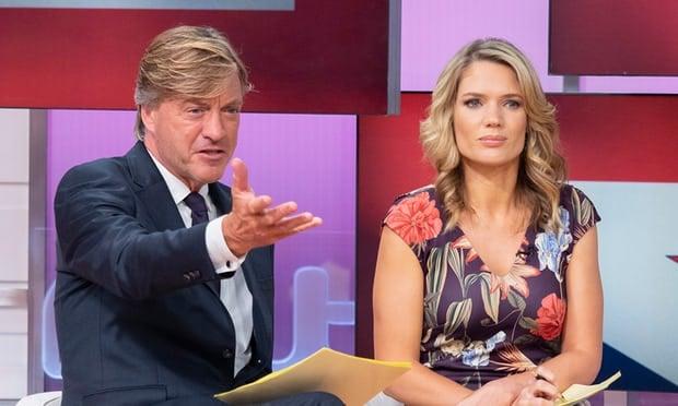 Ричард Мэдли и Шарлотта Хокинс. Фото: ITV / REX / Shutterstock