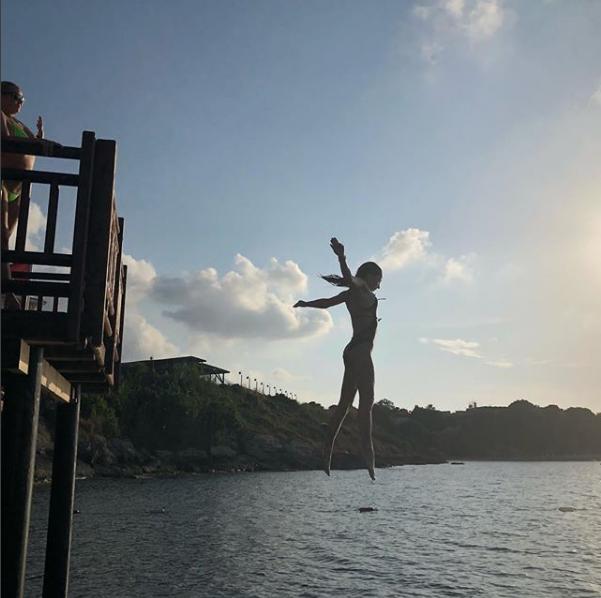 Анастасия Волочкова показала фото с Кипра