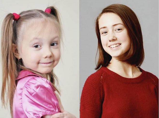 Маленькая Пуговка выросла и уже заканчивает школу. Фото: Instagram/Папины дочки