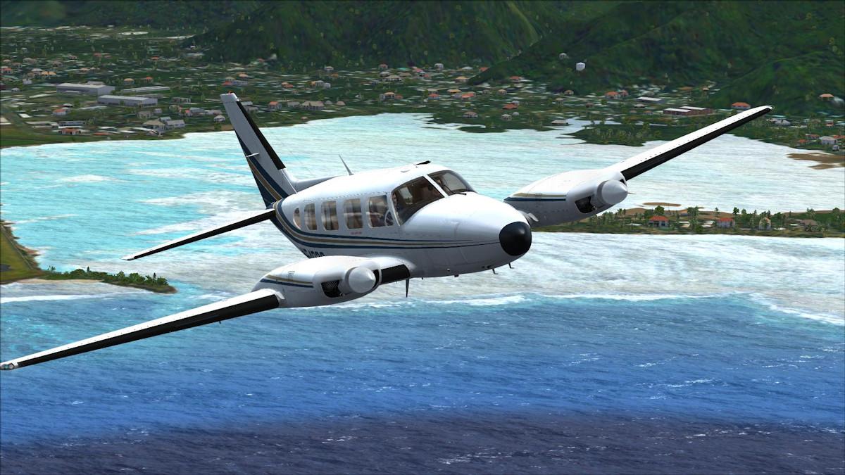 самолет Piper PA31