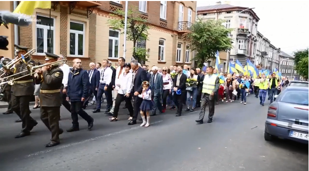 Украинцы в Польше почтили память воинов УНР