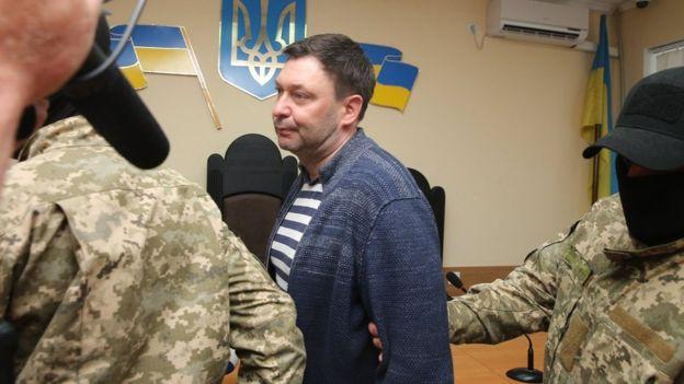 Украинский суд освободил главреда РИА Новости Украина Кирилла Вышинского