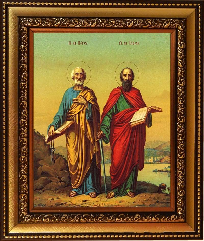 Петр и Павел Святые апостолы. Икона