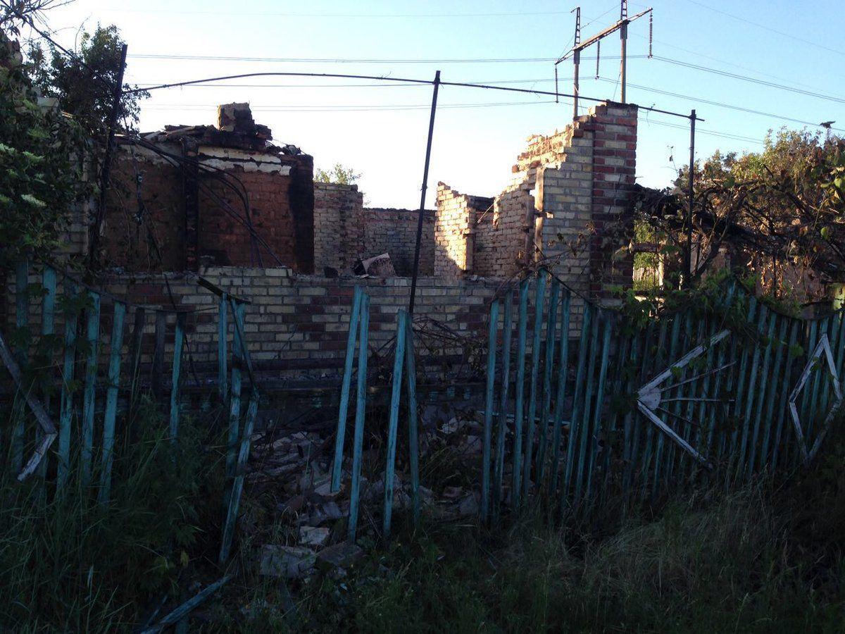 Разрушения в Пивденном