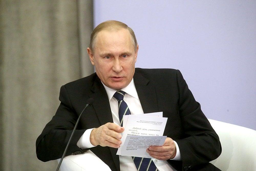 Путин рассказал, как обсуждал с Порошенко судьбу Вышинского.