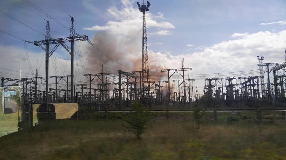 В Чернобыльской зоне возник пожар (Facebook.com/levina.ns)