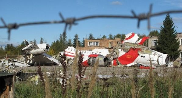 Самолет Качиньского, вероятно, был взорван
