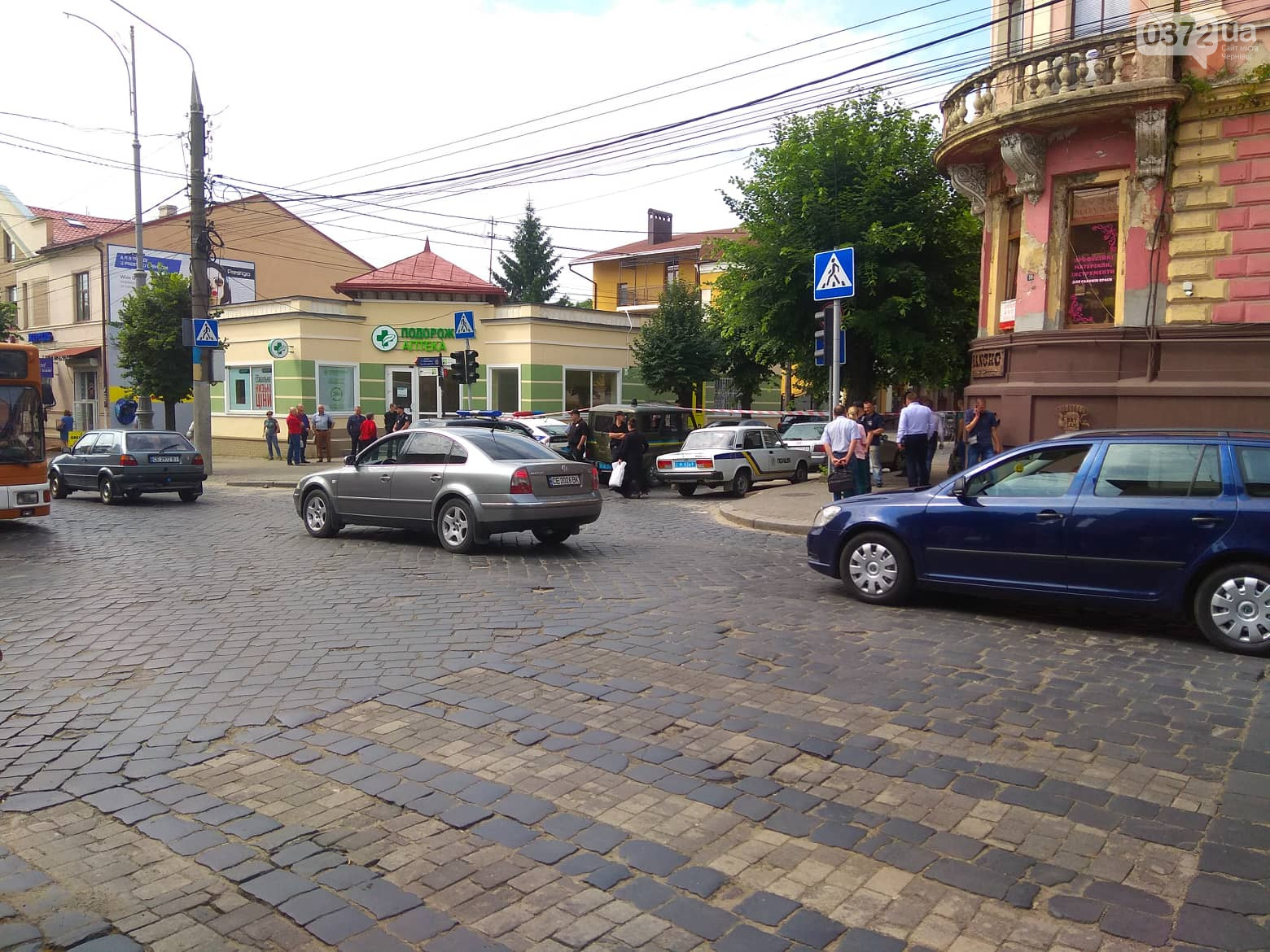 В Черновцах у здания СБУ был взрыв