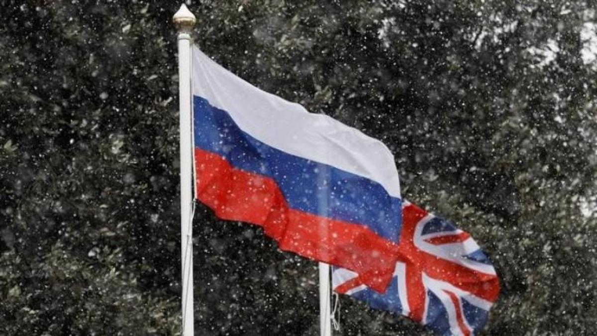 Россия и Британия переживают сложный этап дипломатических отношений