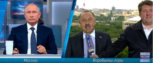 Газзаев не упустил возможности выслужиться перед Путиным