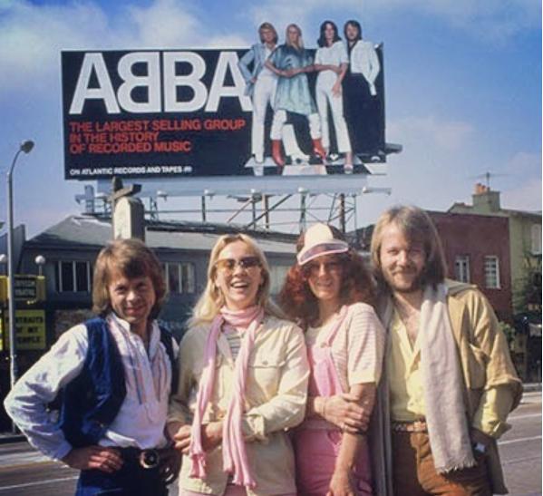 ABBA в соцсетях наверстывает упущенное