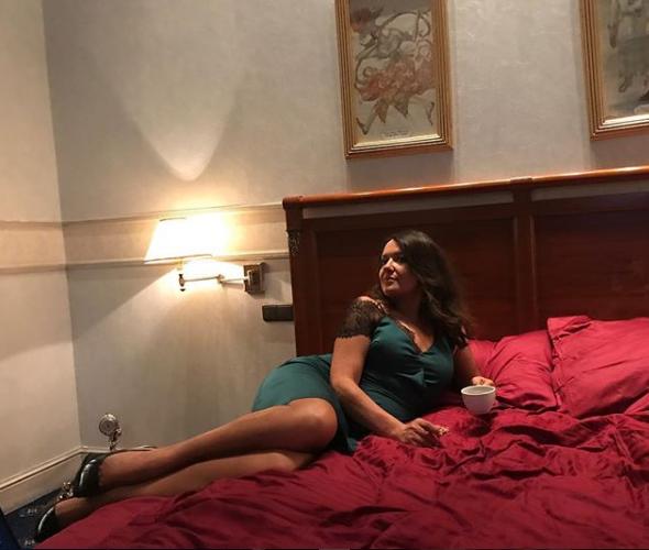 Наталья Могилевская считает, что кофе с печенькой перед сном — это разврат