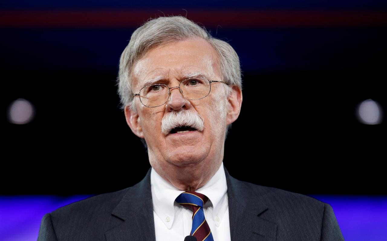 Болтон отметил, что Украина прогрессирует на пути в НАТО