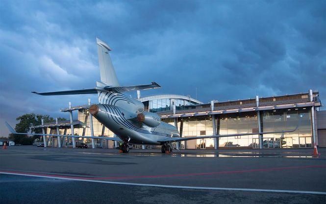 Самолет из Анталии занесло на посадочной полосе
