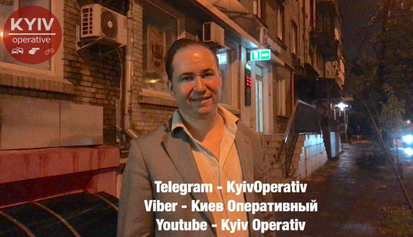 В Киеве поймали пьяным за рулем руководителя консульского отдела России в Украине, узнали журналисты
