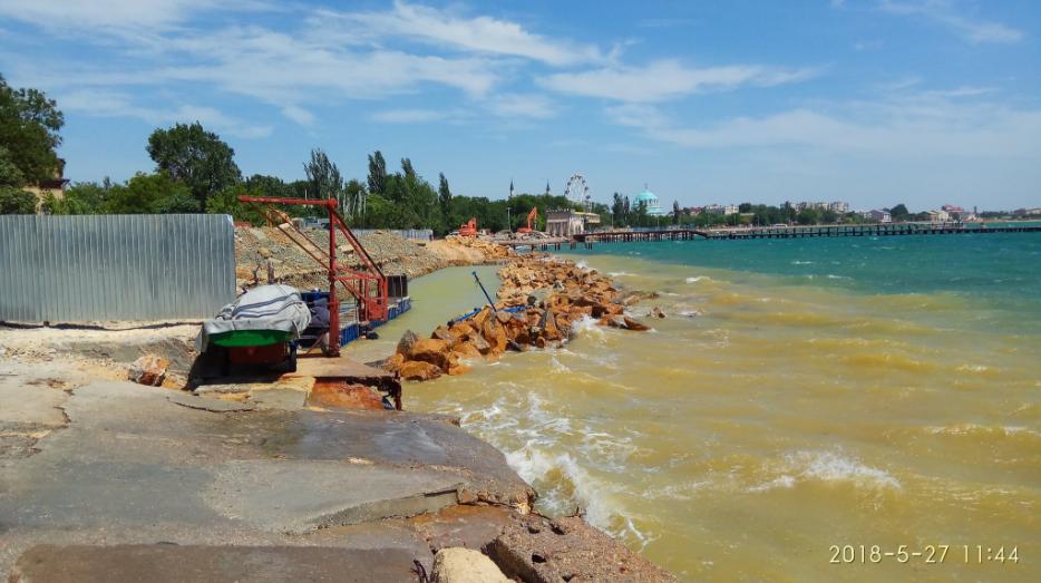 Пустынные пляжи Крыма