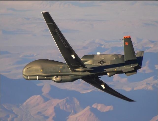 Беспилотник ВВС США пролетел над Донбассом